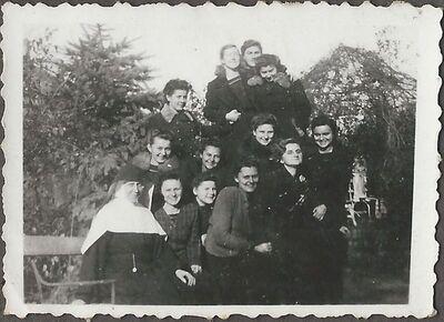 Csoportkép Pálosszentkúton 1941-ben