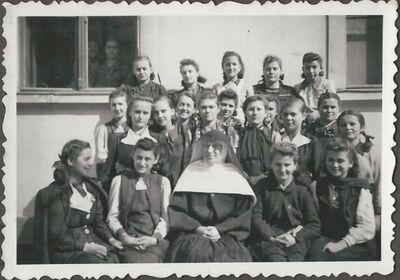 Osztálykép 1941-ben