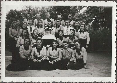 Polgáristák Kiss M. Hortenziával