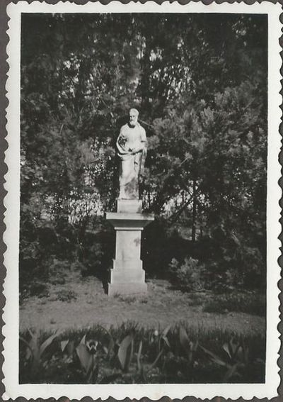 Fourier Szent Péter-szobor