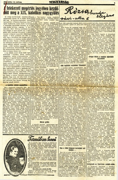 A felekezeti megértés jegyében kezdődött meg a XIX. Katolikus nagygyűlés