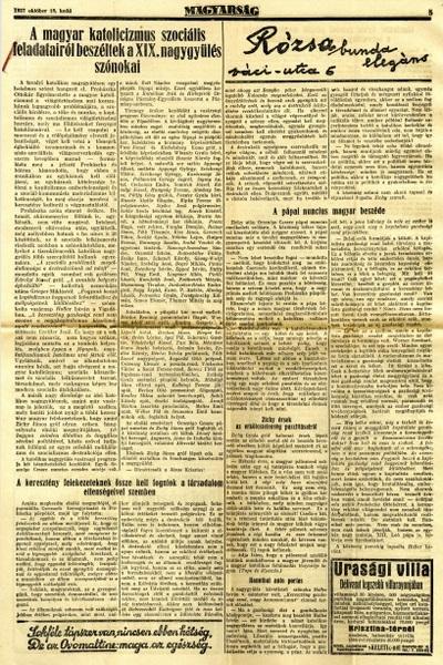 A magyar katolicizmus szociális feladatairól beszéltek a XIX. Nagygyűlés szónokai