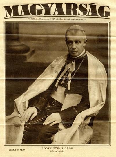 Az országos katolikus nagy-gyűlés megnyitása