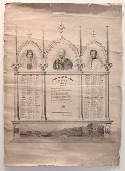 1839-es kalendárium