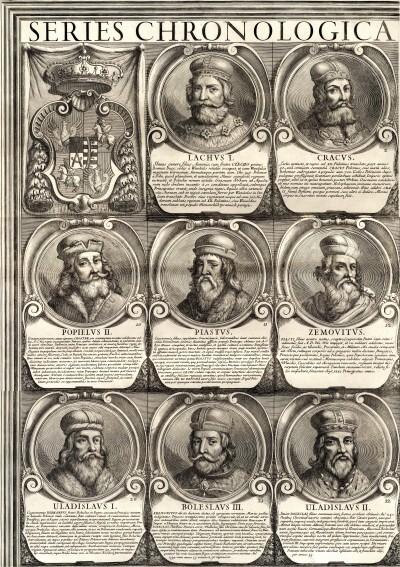Lengyel uralkodói tabló