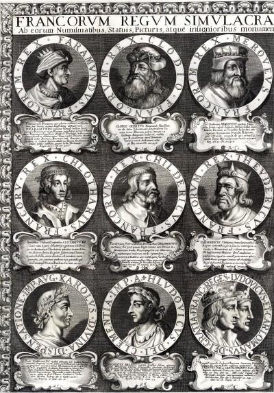 Francia uralkodói tabló