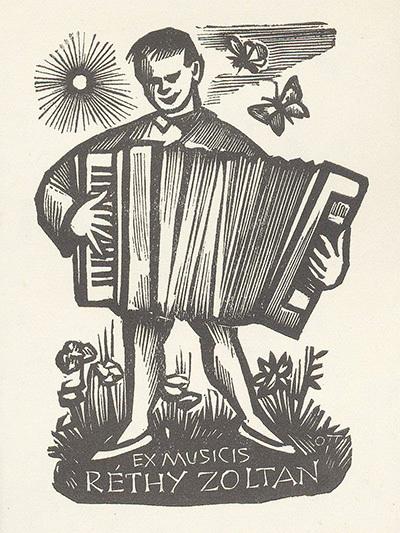 Ex-libris Réthy Zoltán