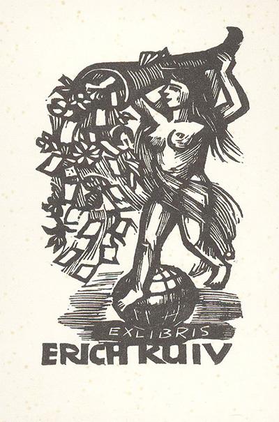 Ex-libris Erich Kuiv