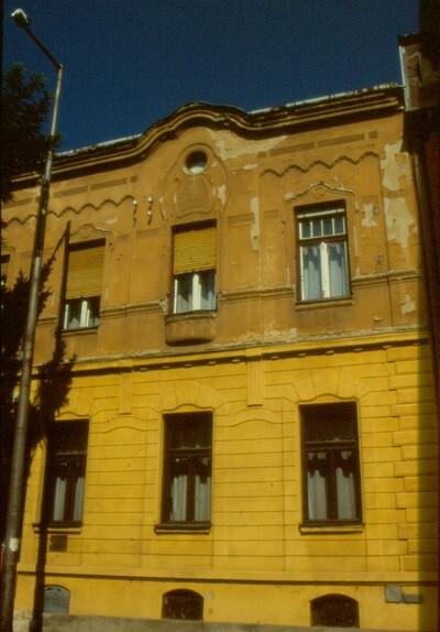 Szecessziós lakóház
