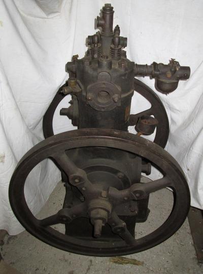 Langen & Wolf típusú stabilmotor