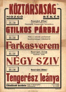 Köztársaság Mozgó programjai 1949. október 18-30-ig
