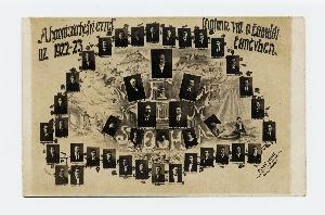 Hódmezővásárhelyi Ev. ref. főgimnázium tabló