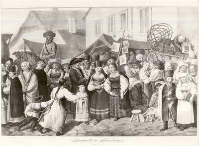 Vásár Erdélyben, 1819-ban