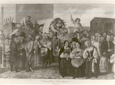 Vásáron Erdélyben, 1819-ban