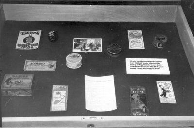 Egykori kereskedelmi kiállítás MKVM Szombathely 1984.