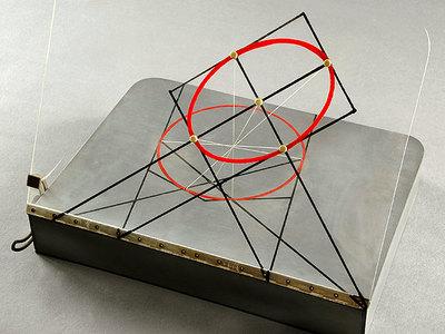 Ellipse als perspektives Bild eines Kreises