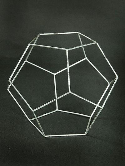 Pentagondodekaeder (Kantenmodell)