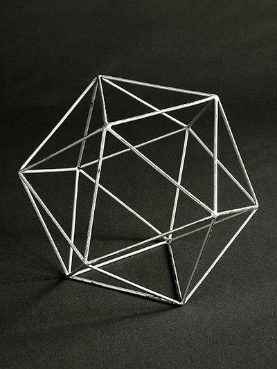 Ikosaeder (Kantenmodell)