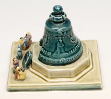 Copie Tsaar Kolokol, van aardewerk