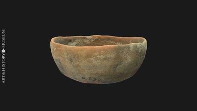 Bowl with flat base and flaring rim, Coupe à bord évasé et à fond plat, Kom met platte bodem en uitstaande rand