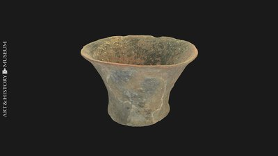 Tronconic beaker, Gobelet tronconique, Tronconische beker