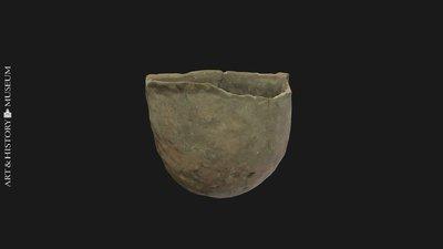 Vase with flared rim