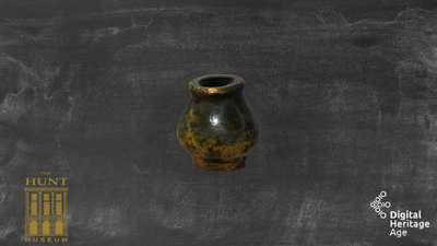 Hunt Museum - Cosmetic Pot -  CG 027