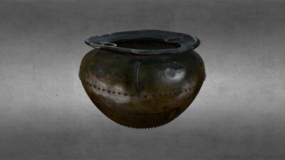 Late Bronze Age, Bronze Cauldron, HCA 458