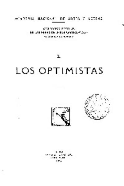 Los Optimistas : Lecturas y opiniones : Crítica de arte / Jesús Castellanos