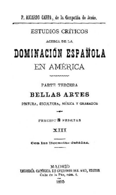 Bellas artes / Ricardo Cappa