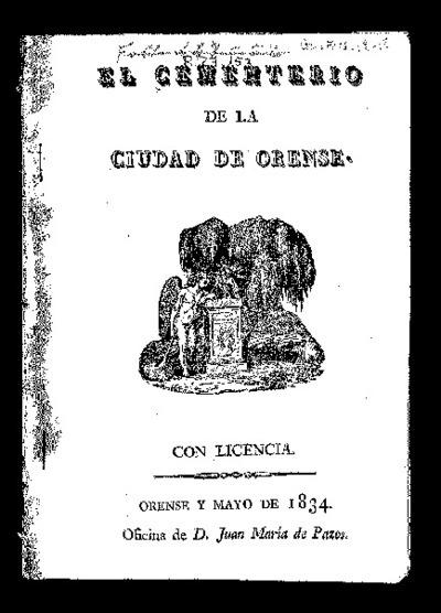 El cementerio de la ciudad de Orense