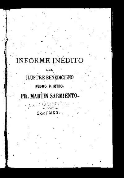 Manifiesto del recibo de rentas de los monasterios de la religión de San Benito y en qué se emplean / sacado y presentado al Consejo por el Rvmo. Martín Sarmiento