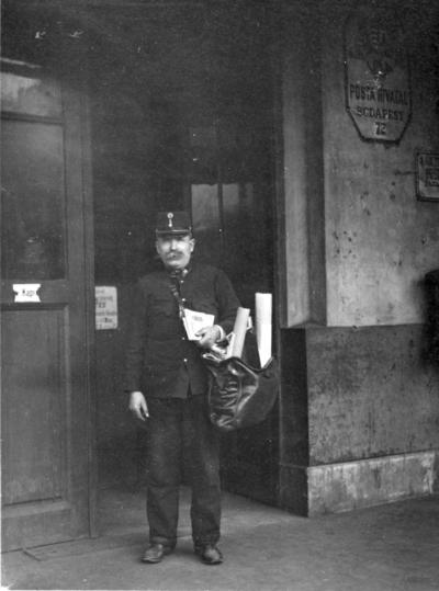 Ungersk brevbärare. Budapest 1925.