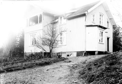 Enligt fotografens journal Lyckorna 1909-1918: Villan Pardala Aug. Andrén