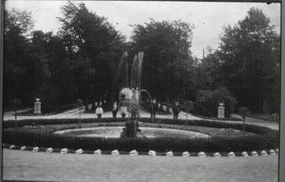 Mössebergs sanatorium, entrén.