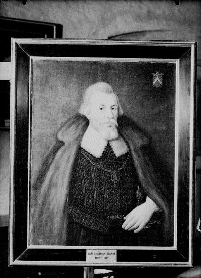Porträtt. Motiv: en man. Lars Siggesson Sparre, 1521-1554.