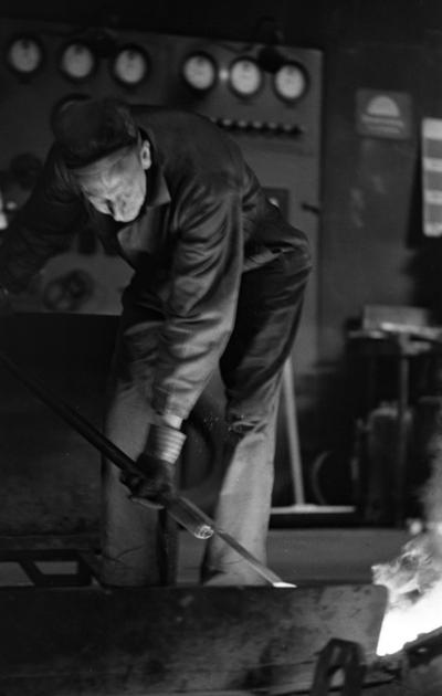 Johnson metall 21 januari 1966  Gjuteriarbetare.