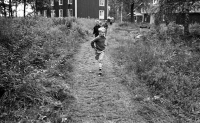 Värhulta ö, 4 juli 1967  En Barnkoloni på ön Värhulta, sommaren 1967.