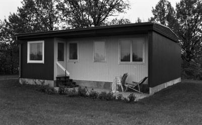 Arkitekt Olsson hemmabild Byggnummer, Odensbacken 11 november 1967