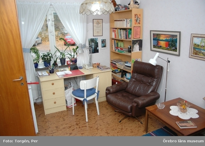 Dokumentation av lägenheter i Laxå i samband med Andreas Lindblads inventering av AB Laxåhems fastighetsbestånd