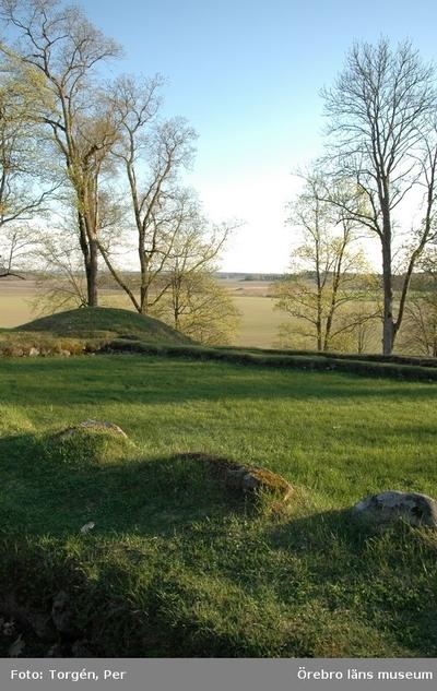 Utsikt från Riseberga klosterruin. Maj 2004.