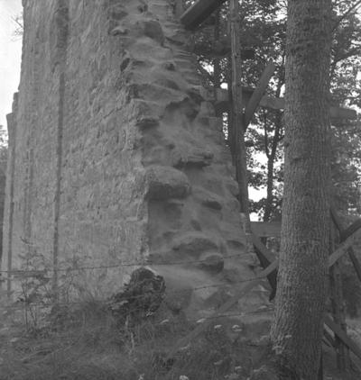 Riseberga klosterruin. 13 augusti 1942.