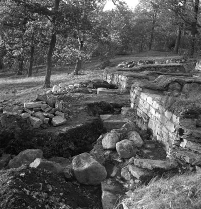 Riseberga klosterruin. 30 september 1943.