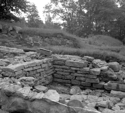Riseberga klosterruin. 3 september 1943.