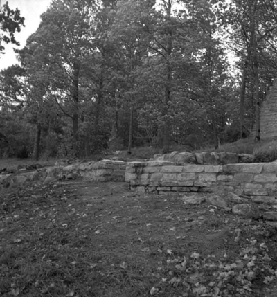 Riseberga klosterruin. 24 september 1943.