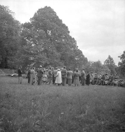 Utflykt till Riseberga. 10 juni 1951.