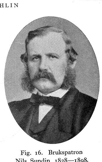 Skogaholms herrgård. Brukspatron Nils Sundin 1828-1898.