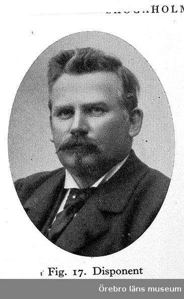 Skogaholms herrgård. Disponent Edvard Rahmberg 1854-1911.