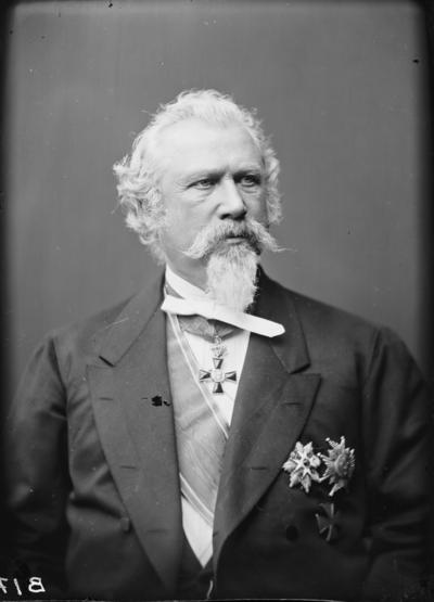 Porträtt av General Wergeland.