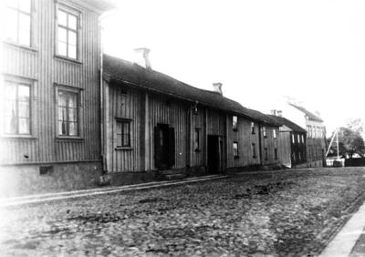 Storgatan före Parkgatans dragning.